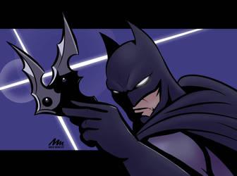 Batman by MichaeLogicalM