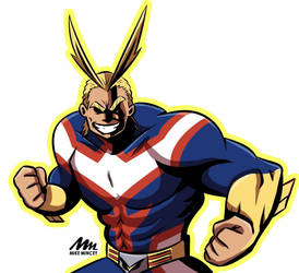 All Might by MichaeLogicalM