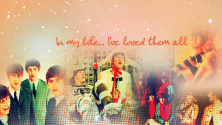 The Beatles In My Life BG by xMrsPaulinaMcCartney