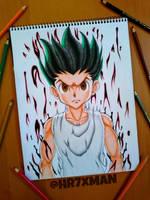 Gon Freecs Drawing by HR7xMan