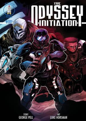 Odyssey Initiation #1 cover by MWEntIndustries