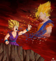 Dragon Ball - Gohan 119 by songohanart