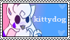 kittydog stamp #2 by belmew