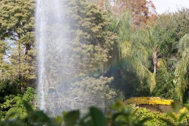 Fountain Rainbow by EarthEmerald