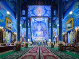 Blue Temple by JanPusdrowski