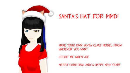 Santa Hat Download by BloodyKylie