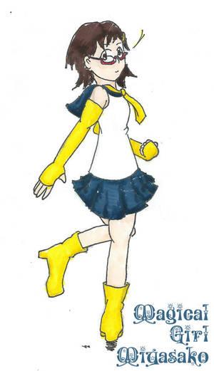 Magical Girl Miyasako by AQuinis