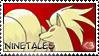 Ninetales Stamp by NateFox