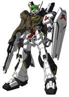 RX-178 Gundam Mark II redesign by unoservix