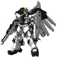RX-96 Nu Gundam by unoservix