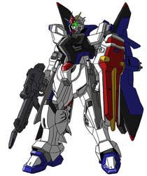 ZGMF-X08A Liberty Gundam by unoservix