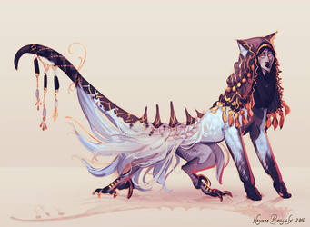 Adopt - Golden ghost sphinx (closed) by 5019