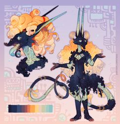 [$] Rainbow Mechanical Tapir by 5019