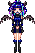 Bat Girl Sprite by Rythea