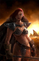 Red Sonja by itchytwitch