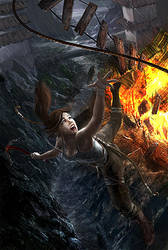 Tomb Raider- I Will Survive by itchytwitch
