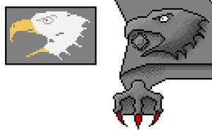 Eagle... CAWWWWwwwww by scetxr-efx