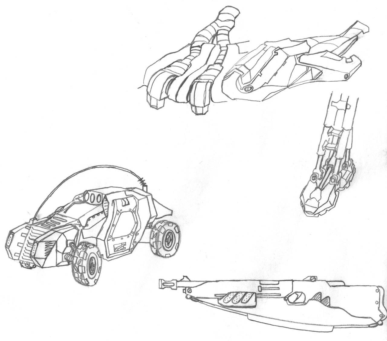 Mech.006.Various by scetxr-efx