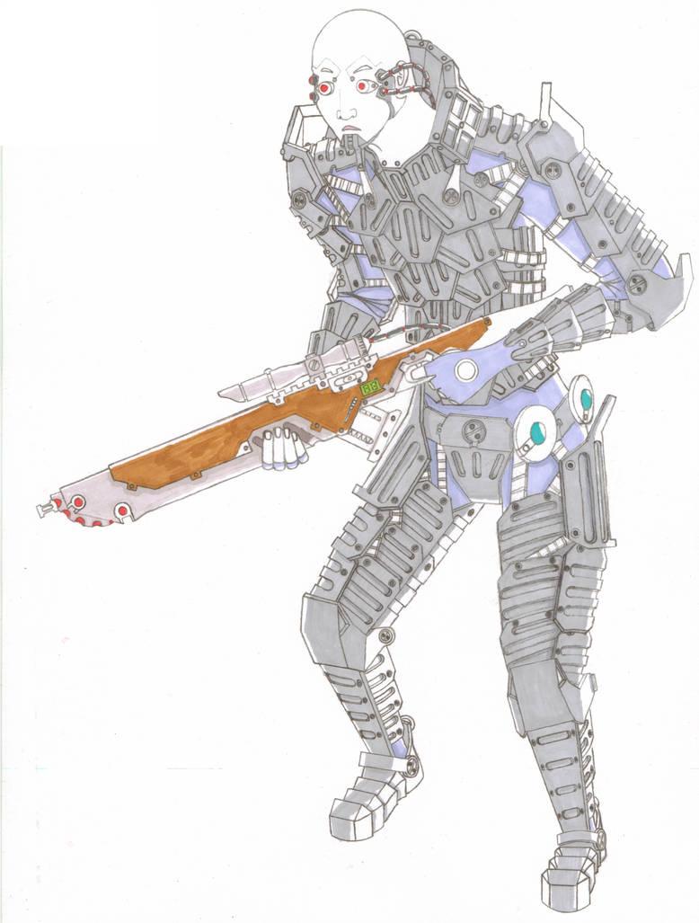 Mech.009.Forward Reconnaissance.Color.Preview by scetxr-efx