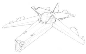 MECH.FLIGHT.001.Fighter Plane by scetxr-efx