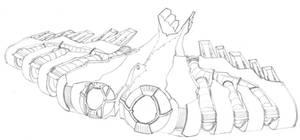 MECH.FLIGHT.002.Bomber by scetxr-efx