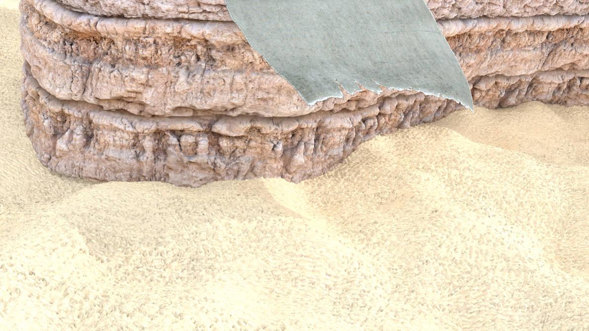 Cliff Wall by scetxr-efx
