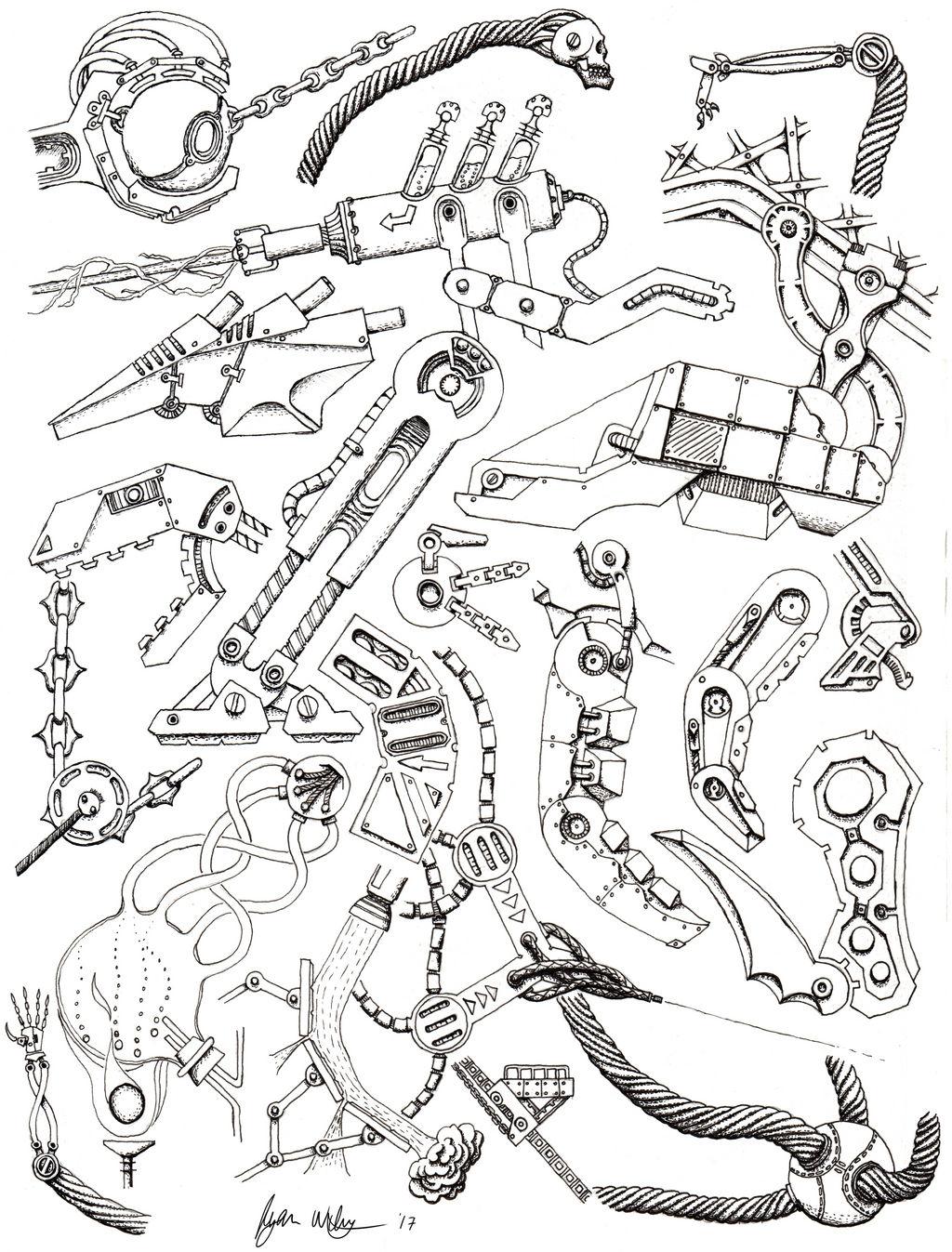 Full Page MECH by scetxr-efx