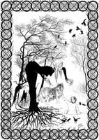 Winter Witch by adalheidis