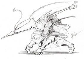 Bangaa Dragoon by GiantBrobot