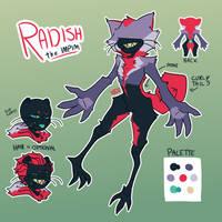 RADISH (impim myo event!) by karasudaze