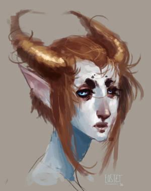 horns by Bethaleil