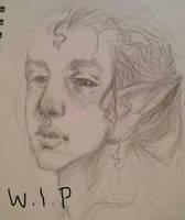 elf kid w.i.p by Bethaleil