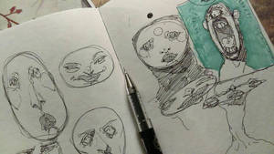 sketchin by Bethaleil