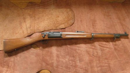 1899 Philippine Constabulary Krag Carbine by renegadecow