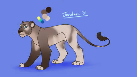 My Lioness Jordan by Hiemer123