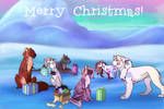Merry Christmas Clowder Family! by Hiemer123
