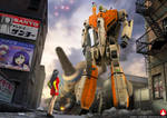 MACROSS: I Saw Her First by WolfKroger74