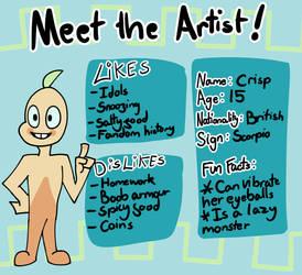 Meet The Artist by Crispface