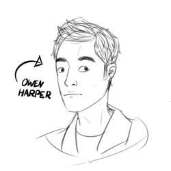 Owen Harper by Crispface