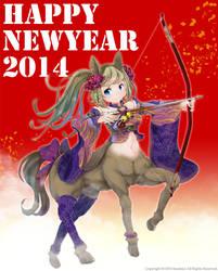 Happy new year 2014 by soutatsu123