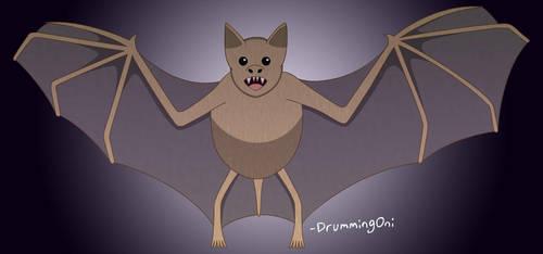 Vampire Bat by DrummingOni