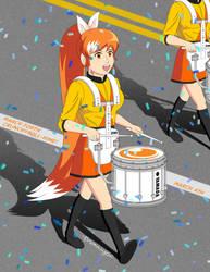 March Forth Crunchyroll-Hime! by DrummingOni