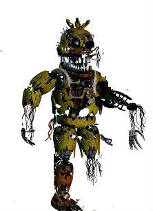 Withired Nightmare Chica by chicafan17