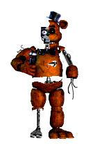 Old FNAF 1 Freddy by chicafan17