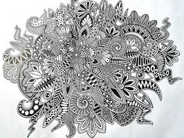 zentangle by Tatyanka-Gunchak