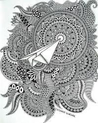 paper airplane by Tatyanka-Gunchak