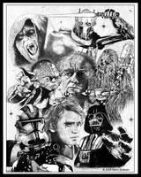 Star Wars Episode III by grahamart