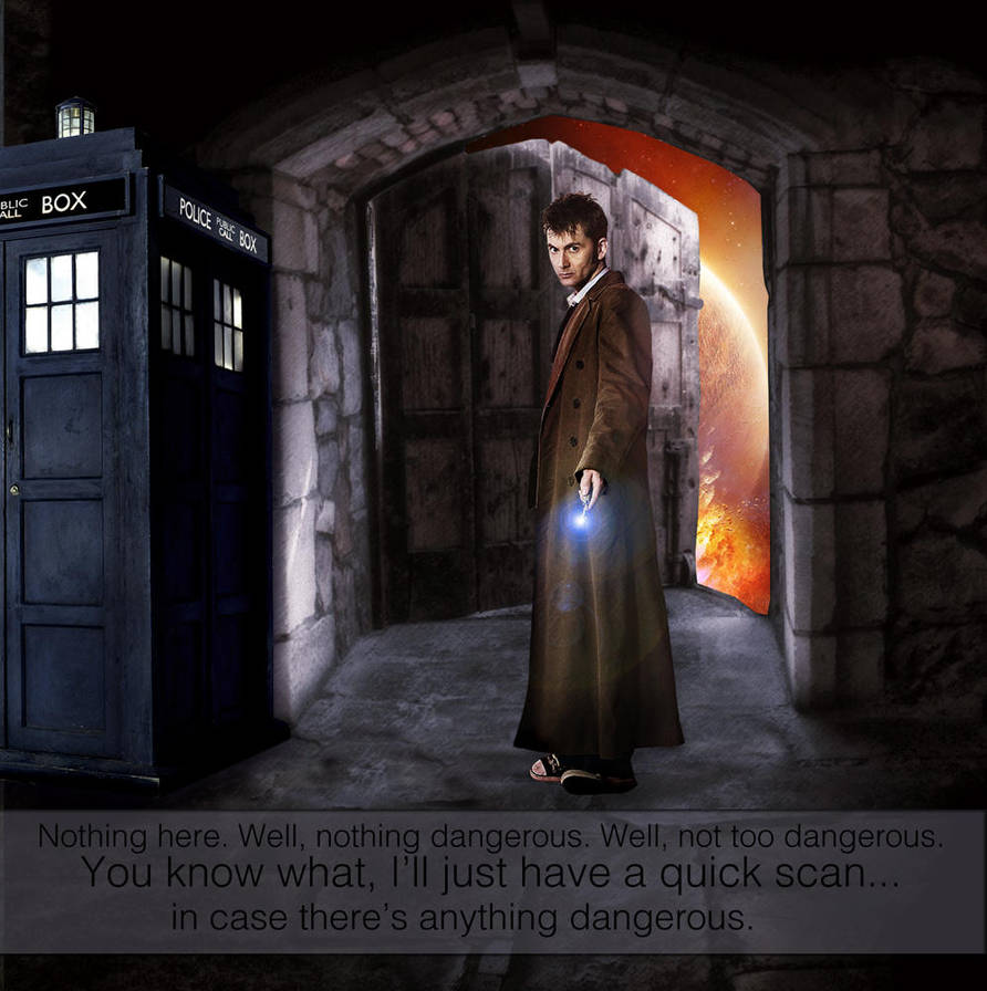 10th Doctor by capturedbykc
