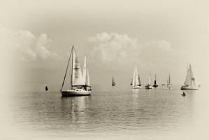 sailing - 2 by agalip