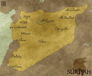 Map of Suriyah by Cirias